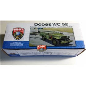 Pilot Replicas 48R004 Dodge WC52 Jeep in 1/48