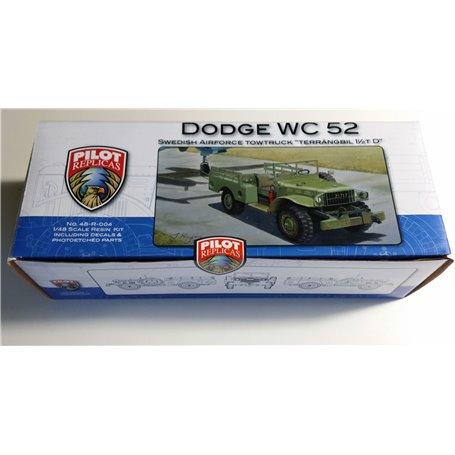 Pilot Replicas 48R004 Dodge WC52 Jeep in 1/48