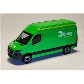 "AHM AH-878 Mercedes-Benz Sprinter `18 box type ""Bring Citymail"""