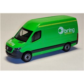"AHM AH-879 Mercedes-Benz Sprinter `18 box type ""Bring Express"""