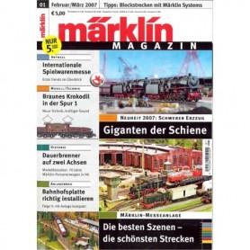 Märklin 118564 Märklin Magazin 1/2007 D