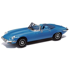 Ricko 38620 Jaguar E-Type Roadster, blå, PC-Box