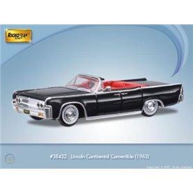 Ricko 38422 Lincoln Continetal Convertible, svart, PC-Box