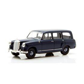 Brekina 91345 Mercedes Benz 180 Kombi, mörkblå