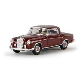 "Brekina 13502 Mercedes Benz 220 S Coupé (W180 II), rubinröd, ""Von Starmada"""