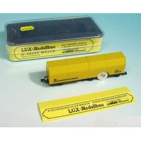 Lux Modellbau 9405 Rälsrengörningsvagn/slipvagn