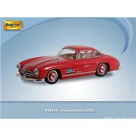 Ricko 38494 Mercedes Benz 300SL (W198), röd, PC-Box