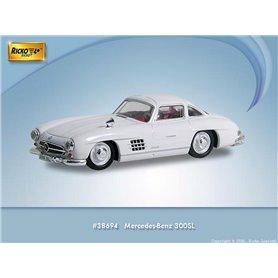 Ricko 38694 Mercedes Benz 300SL (W198), vit, PC-Box