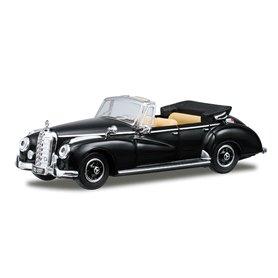 Ricko 38427 Mercedes Benz 300C (W186) Cabriolet, svart, PC-Box
