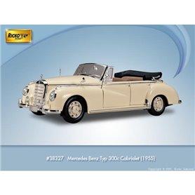Ricko 38327 Mercedes Benz 300C (W186) Cabriolet, beige, PC-Box