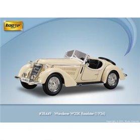 Ricko 38449 Wanderer W25K Roadster, beige, PC-Box