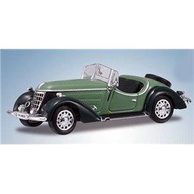 Ricko 38349 Wanderer W25K Roadster, grön/mörkgrön, PC-Box