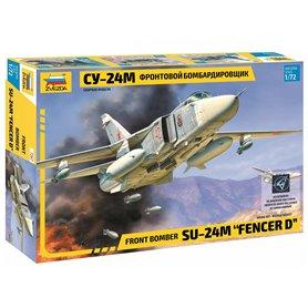 "Zvezda 7267 Flygplan Front bomber Su-24M ""Fencer D"""