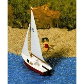 Noch 11250 Segelbåt med figur