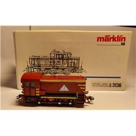 "Märklin L-3136 Diesellok klass BR 260 ""Speiclaserie Lëtzebuerg"""