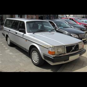 Brekina 870011 Volvo 240 GL station wagon, metallic-silver, 1989