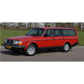 Brekina 870008 Volvo 240 GL station wagon, red, 1989
