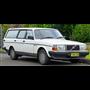 Brekina 870009 Volvo 240 GL station wagon, white, 1989