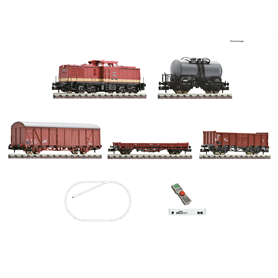 Fleischmann 931892 z21 start digital set: Diesel locomotive class 110 and goods train of the Deutsche Reichsbahn