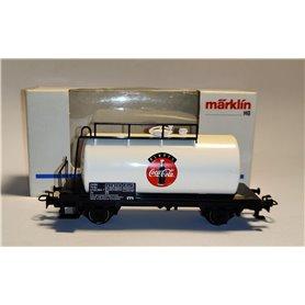 """Märklin 4440.95002 Tankvagn SJ """"Coca-Cola Always"""" Svensk"""