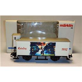 """Märklin 4680.98713 Godsvagn med bromskur """"Katalogvagn 1952"""""""
