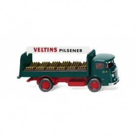 Wiking 47602 Beverage truck (Büssing 4500) 'Veltins'