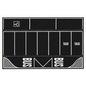 Noch 60718 Vägfolie, parkeringsplats, asfalt, 2 st, mått 220 x 140 mm