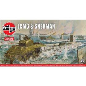 "Airfix 03301V LCM3 & Sherman ""Vintage Classics"""