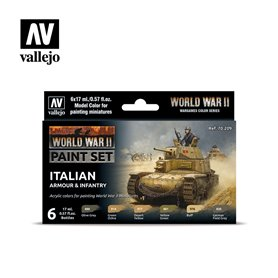 "Vallejo 70209 Paint Set ""WWII Italian Armour & Infantry"""