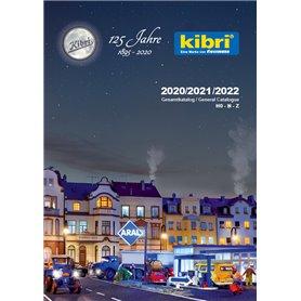 Media KAT521 Kibri Huvudkatalog Husbyggsatser|Fordon 2020/2021/2022