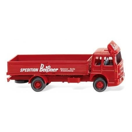 "Wiking 51902 Swap body truck (MAN) ""Sped. Beißner"", 1967"