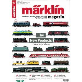 Märklin 345101 Märklin Magazin 2/2020 Engelska