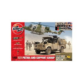 Airfix 50123 British Forces Patrol and Support Group Gift Set