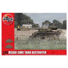 Airfix A1356 Tanks M36B1 GMC (U.S. Army)