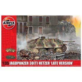 Airfix A1353 Tanks JagdPanzer 38 tonne Hetzer, Late Version
