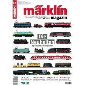 Märklin 345099 Märklin Magazin 2/2020 Tyska