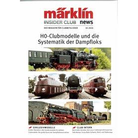 Märklin INS22020T Märklin Insider 02/2020, magasin från Märklin, 23 sidor Tyska