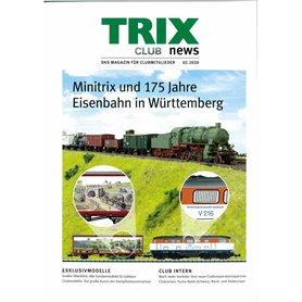 Trix CLUB22020T Trix Club 02/2020, magasin från Trix, 23 sidor i färg, Tyska