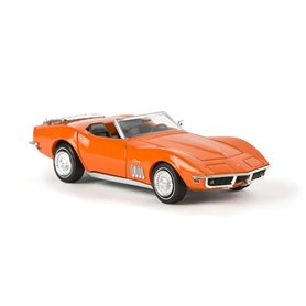 Brekina 19974 Corvette C3 Cabriolet, orange, TD