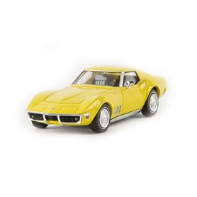 Brekina 19976 Corvette C3 Cabriolet, gul, TD