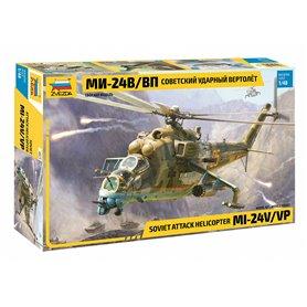 Zvezda 4823 Helikopter Soviet attack helicopter MI-24