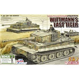 "Dragon 6800 Tanks Pz.Kpfw. VI Ausf.E Sd.Kfz.181 Late Production ""Wittmann´s Last Tiger"""