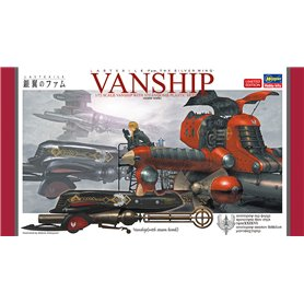 """Hasegawa 64778 Last Exile Vanship """"The Silver Wing"""""""