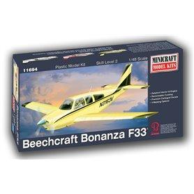 Minicraft 11694 Flygplan Beechcraft Bonanza F-33 (Display Base)