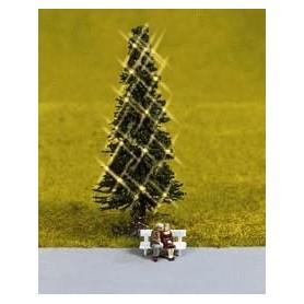 Noch 43811 Gran med julbelysning, utan snö, utan figurer på bänk