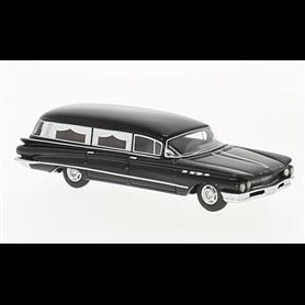 BOS 87371 Buick Flxible Premier Hearse, svart, 1960