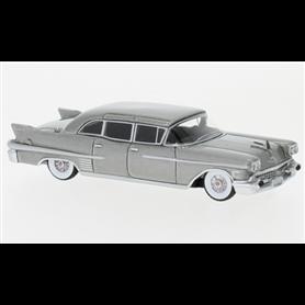 BOS 87616 Cadillac Fleetwood 75 Limousine, metalligrå, 1958
