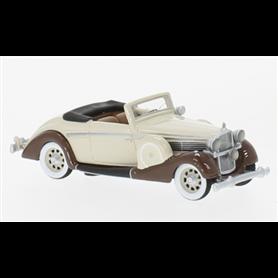 BOS 87591 Maybach SW 38 Cabriolet Spohn, beige/brun, 1937