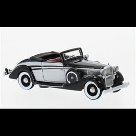 BOS 87590 Maybach SW 38 Cabriolet Spohn, svart/ljusgrå, 1937