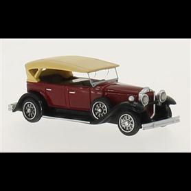 BOS 87155 Packard 733 Straight 8 Sport Phaeton, mörkröd/svart, 1930